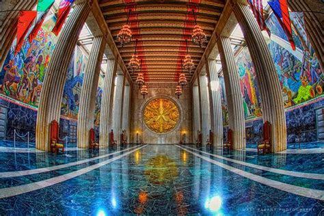 dallas tx fair park hall  state interior view