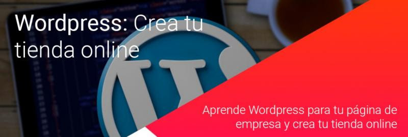 CURSO Tu tienda online con Wordpress / SEMINARIO Emprendedores / CURSO Atención a Clientes