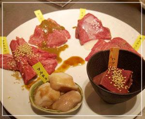 どーんとお肉6種盛。圧巻!