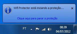 Efetuando a proteção