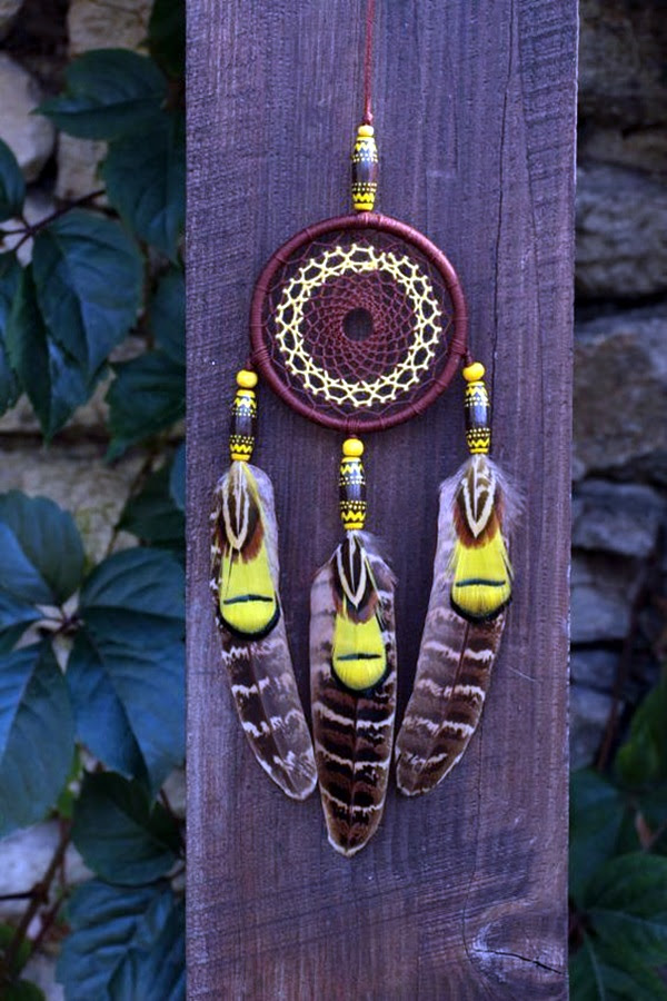 DIY Beautiful and Unique Dream Catcher Ideas (34)