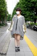 Balmung Fleece Dress & Tabi Socks in Shinjuku