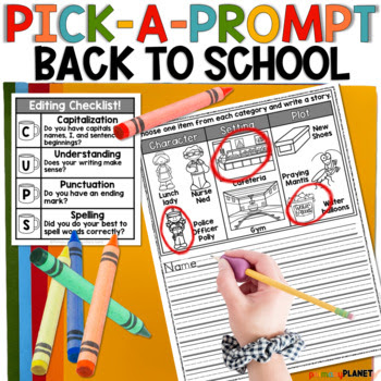 Back to School Pick a Prompt!