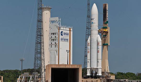Ariane 5 Arabsat 5C et SES-2