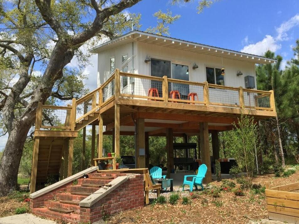 Family s 576 Sq Ft Stilt Beach House