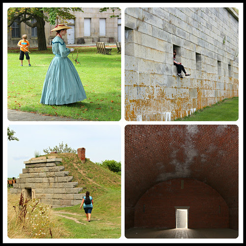 Georges Island Collage