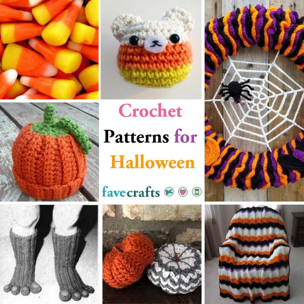 18 Free Halloween Crochet Patterns  FaveCrafts.com