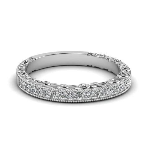 2019 Latest Women's Wide Wedding Bands
