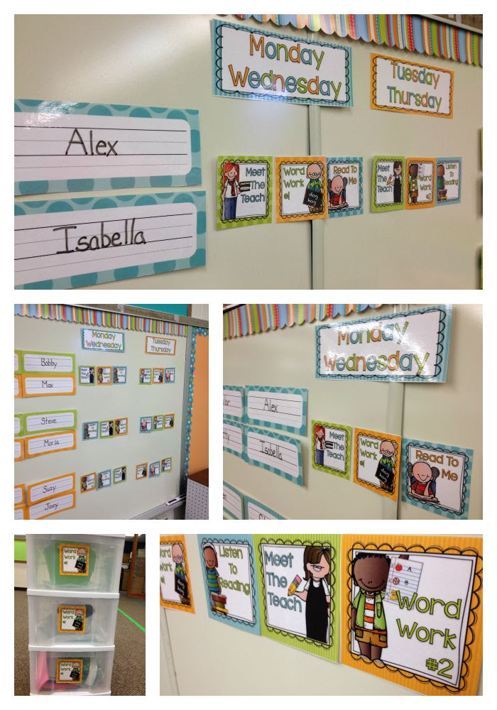 Organizing Daily 5 Literacy Stations in Kindergarten and ...a ...