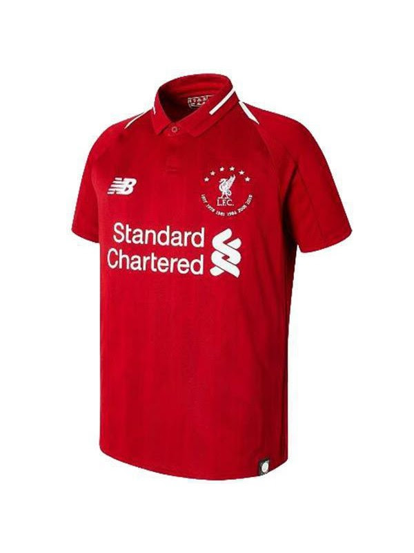 Liverpool Limited Edition Six Times Jersey Mens Soccer 6th Replica Football Shirt 2019-2020