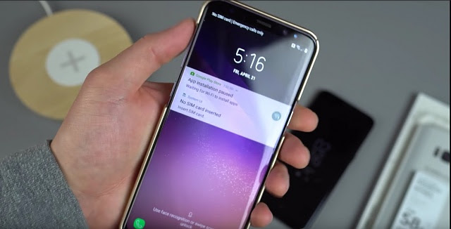 How To Change Clock On Lock Screen In Galaxy S8 And S8 Plus Innov8tiv