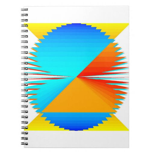 Rainbow Medallion Notebook