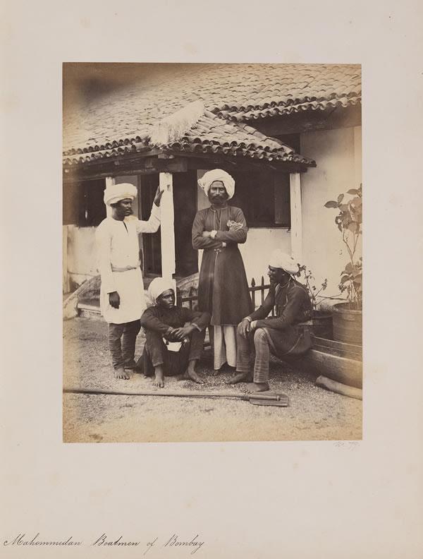 Mahommedan Boatman of Bombay (Mumbai), 1855 - 1862