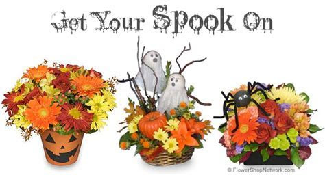 A Halloween without Flowers? Spooky!