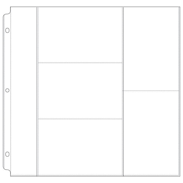 1 Pack 10 Pcs 12 X 12 Ring Album Photo Protectors With 46 3