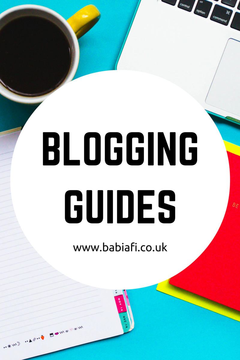 Babi a Fi Blogging Guides