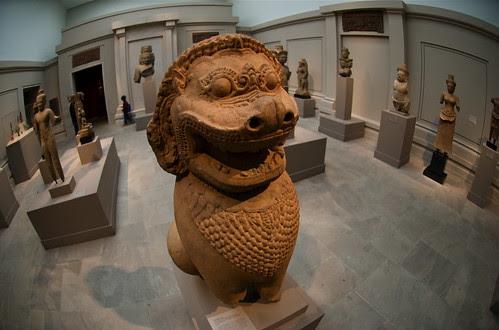 Cambodian sculpture at the Met
