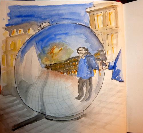 Giant ball of Christmas tree/ bola de navidad gigante