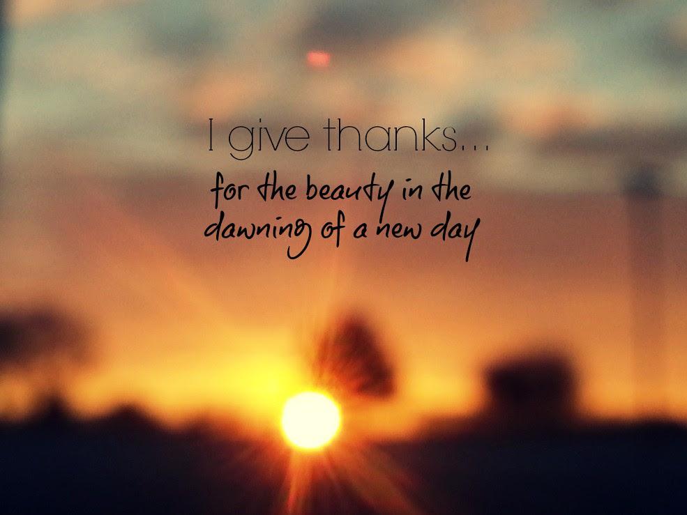 {gratitude} day 1