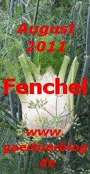 Garten-Koch-Event August 2011: Fenchel [31.08.2011]