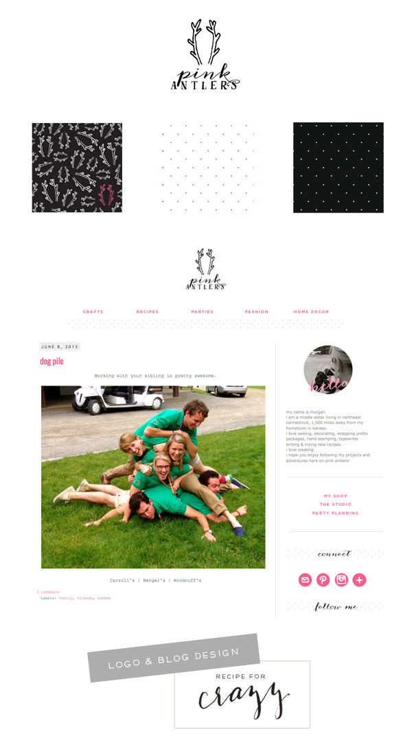 blog design by recipeforcrazy
