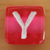 Bead Letter Y
