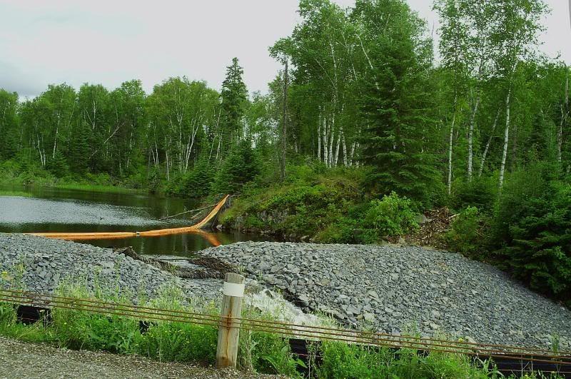 quetico park dam,BingoRage brokenvultureart