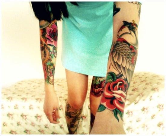 rose tattoo designs (22)