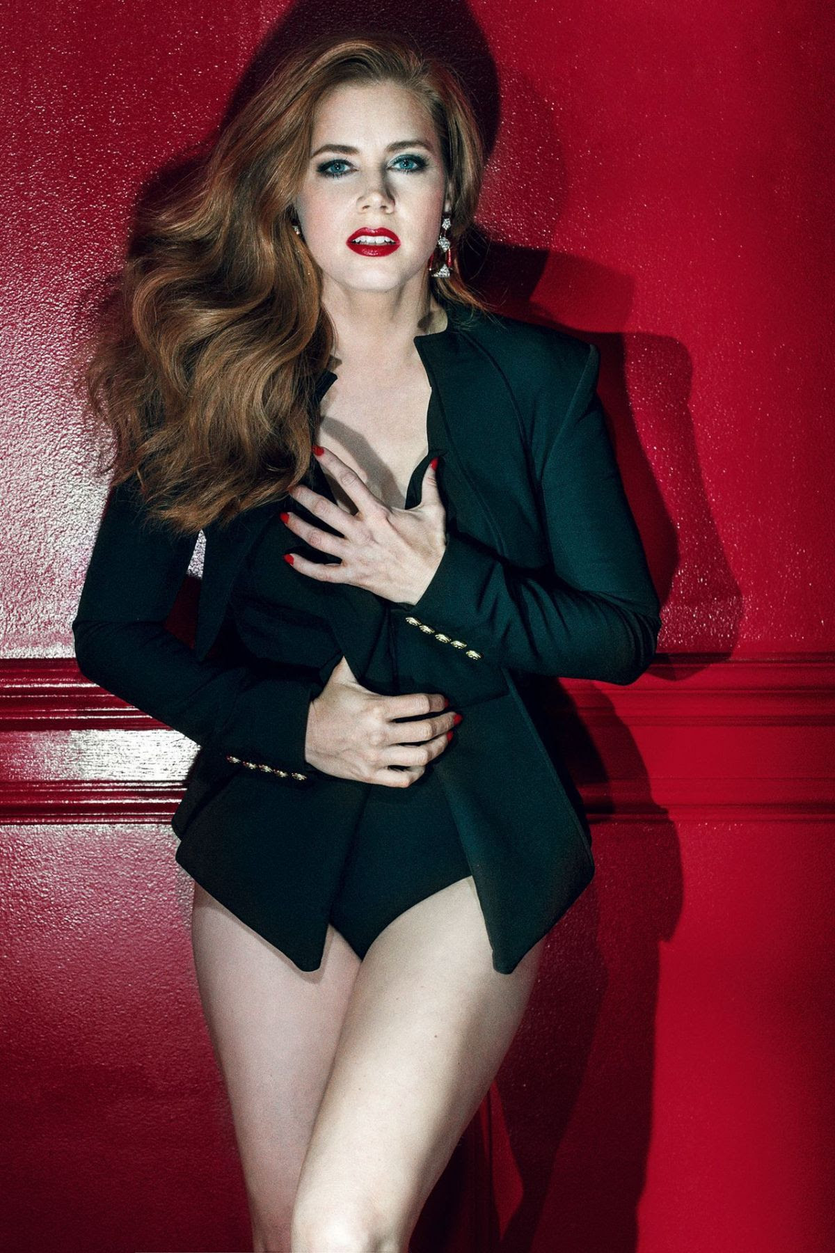 AMY ADAMS in GQ Magazine, UK April 2016 Issue