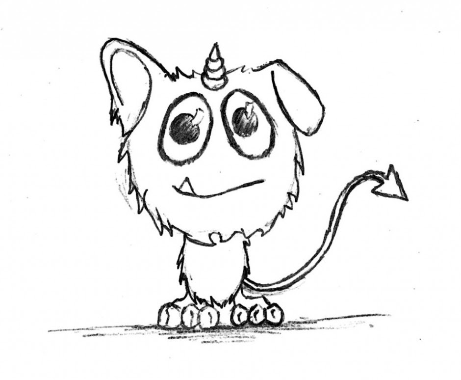 850 Top Cute Monster Coloring Pages To Print For Free