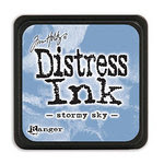 Ranger Ink - Tim Holtz - Distress Ink Pads - Mini - Stormy Sky