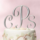 17 Best ideas about Monogram Wedding Cakes on Pinterest
