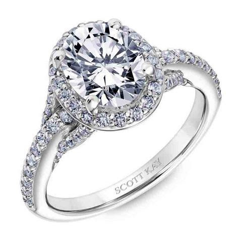 Scott Kay   Embrace Collection Platinum Engagement Ring 31