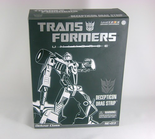 Transformers Dragstrip Classic Universe Special Edition - caja