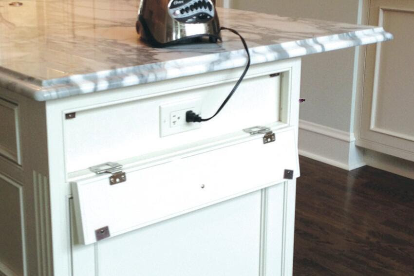 Power Blend: Creative Ways With Kitchen Island Outlets ...