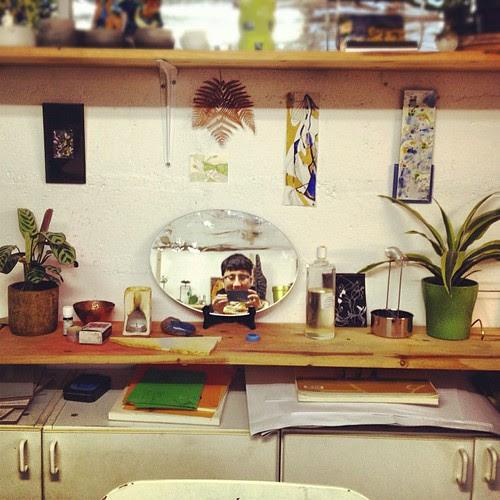 Ready for the atelier de teinture vegetale by la casa a pois