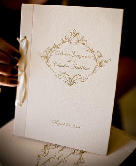 Wedding Program Trends   Wedding Stationery   Inside Weddings