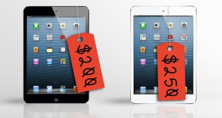 iPad Mini, 250 USD, iPad giá rẻ, Apple, Citi Research, Tim Cook