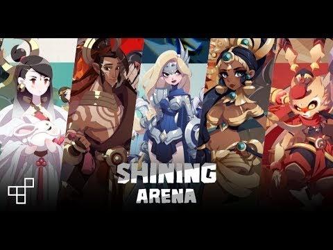 Shining Arena, một game di động MOBA không có creep