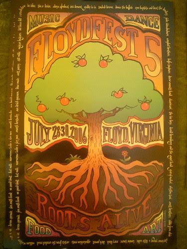 FloydFest 5 Poster