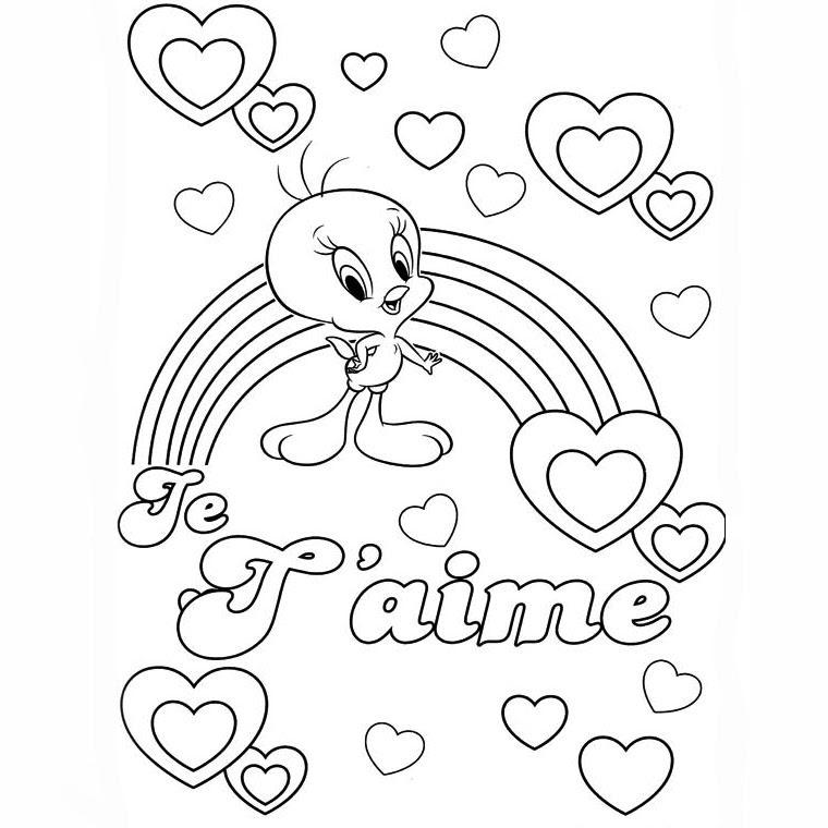 13 Dessins De Coloriage Tag Love à Imprimer Sur Laguerchecom Page 1