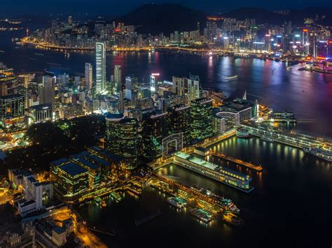 victoria harbour  hong kong hd wallpapers