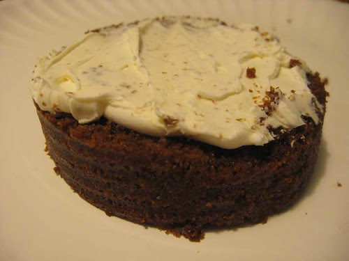 Canned Bread topped with Creamcheese
