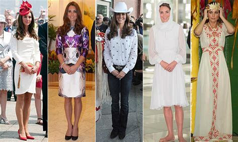 Kate Middleton?s 36 striking royal tour outfits from North