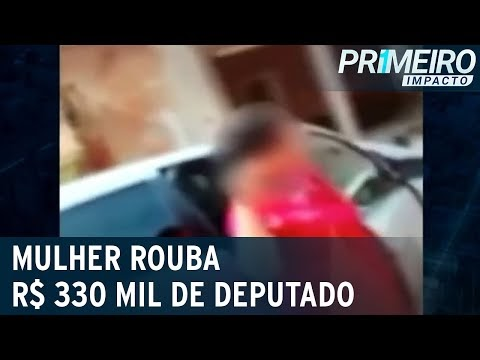 Mulher é convidada para orar e furta R$ 330 mil da casa de deputado
