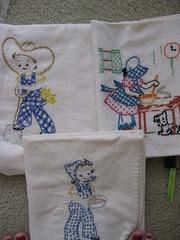 Embroidered Dishtowels