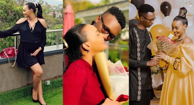 IFOTO Y'UMUNSI: Bahavu Jannet n'umugabo we, Fleury Legend – YEGOB #rwanda #RwOT