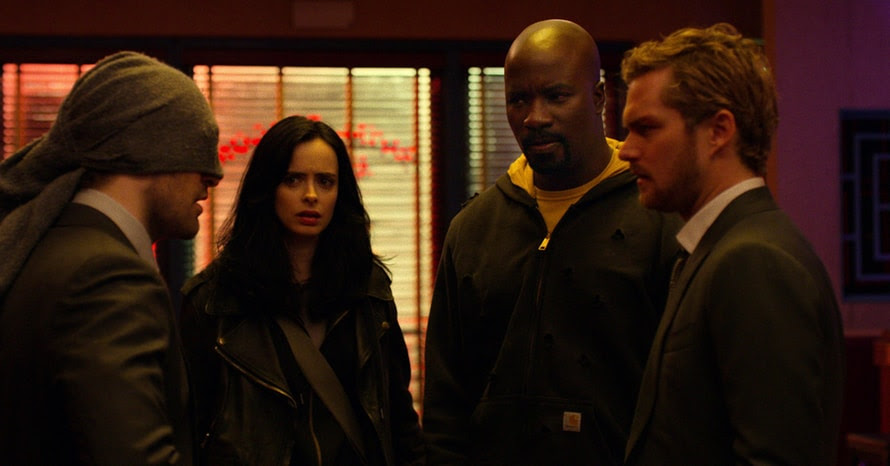 Netflix Defenders Marvel Television It's All Connected Kevin Feige