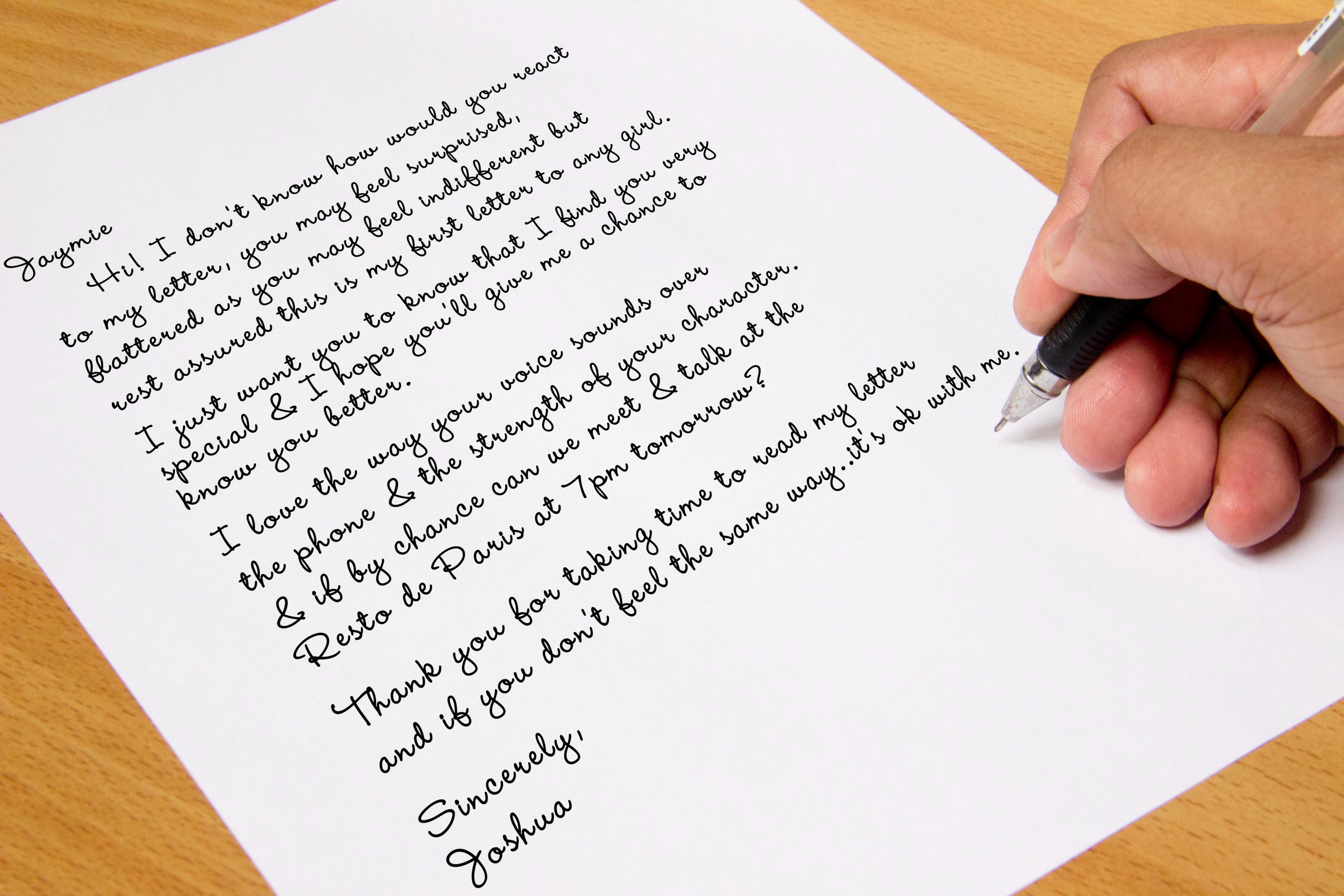 Letter defenisi contoh dan soal latihan lengkap english informal letterpersonal stopboris Image collections