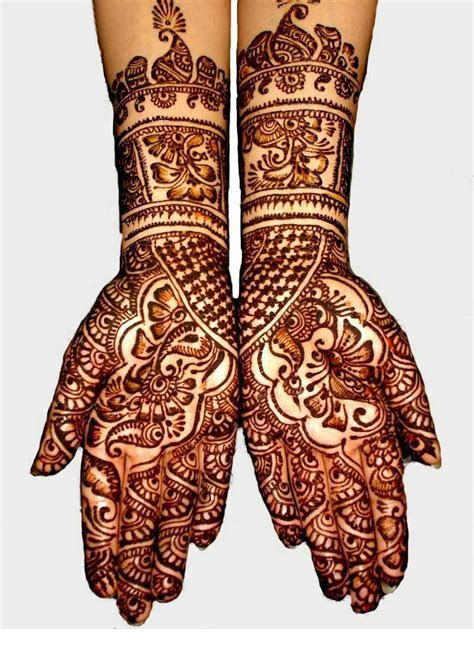 20 Most Beautiful Bridal Mehndi Designs 2017   SheClick.com